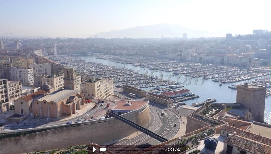 Vieux-Port, Fort Saint-Jean - Marseille