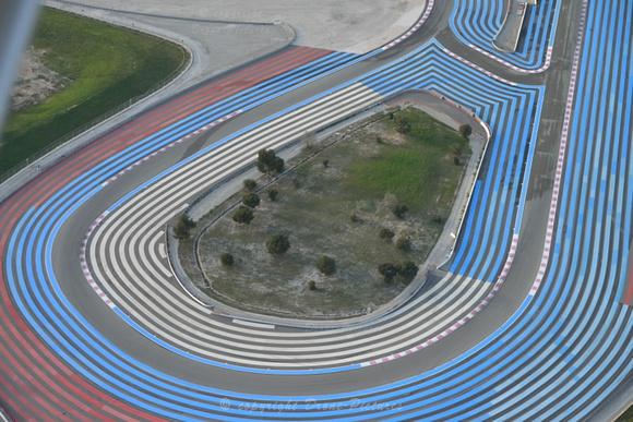Circuit du Castellet (vue aérienne)