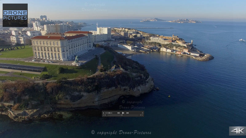 Palais du Pharo © Drone-Pictures