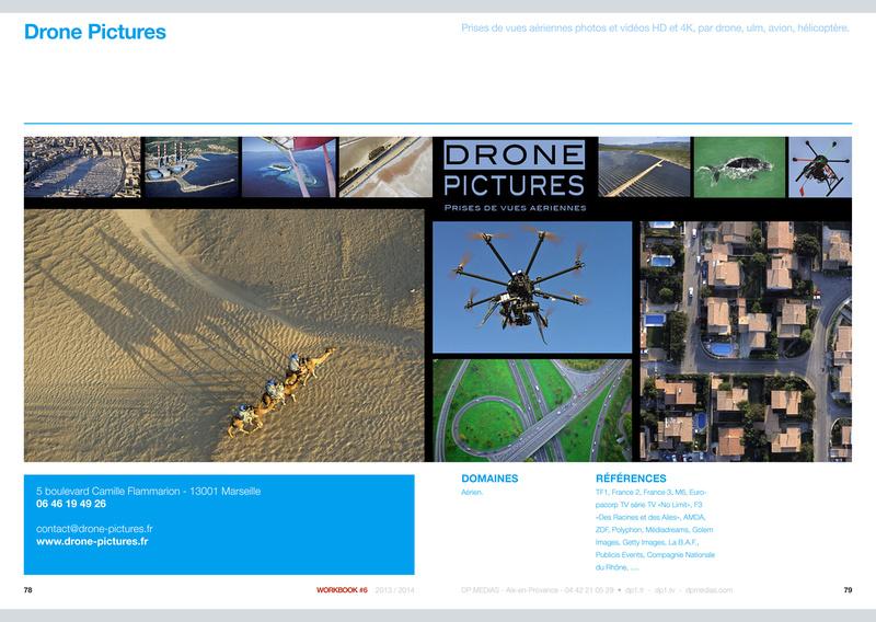 Page Drone-Pictures dans le KOMPASS 2013-2014
