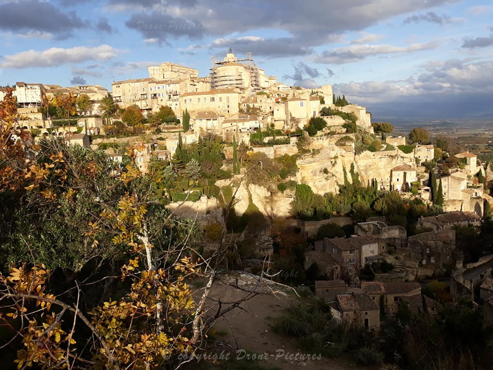 Gordes au Sunset