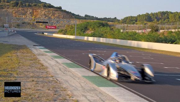 Photo Bord du circuit Alès E-Formula Ecurie Venturi : ZF © Drone-Pictures