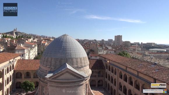 Marseille par Drone Pictures - Ville depuis Vieille Charité