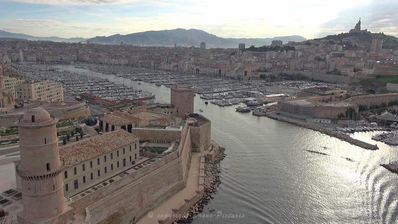 Fort-Saint-Jean Vieux-Port et NDG - Marseille