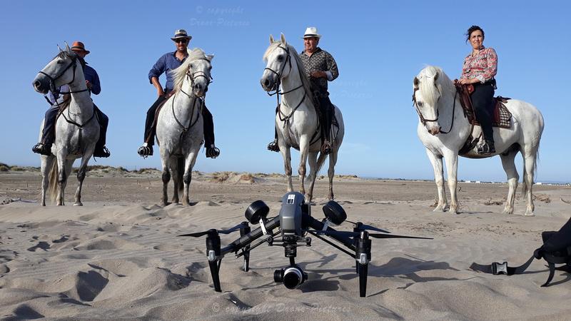 Chevaux Plage - Drone - Explorers