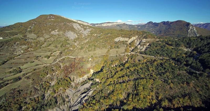 Images extraite de la video 6K avec Zenmuse X7 - Sisteron en automne © Drone-Pictures