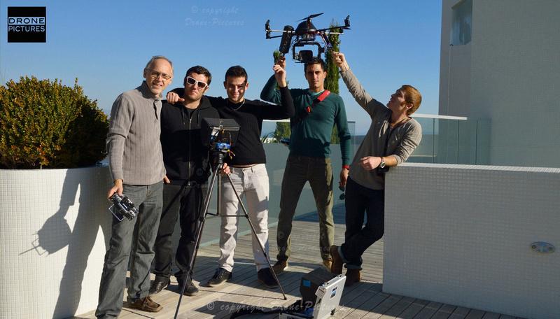 Tournage par Drone-Pictures au Simona de Monaco