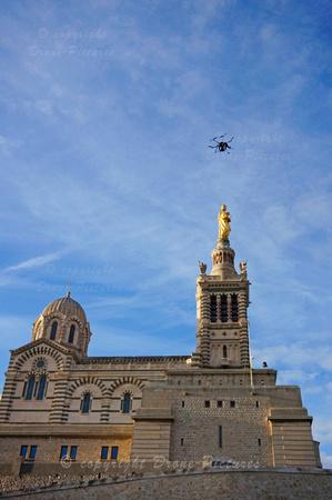 Drone-Pictures à Notre-dame de la Garde - Marseille_DSC2067