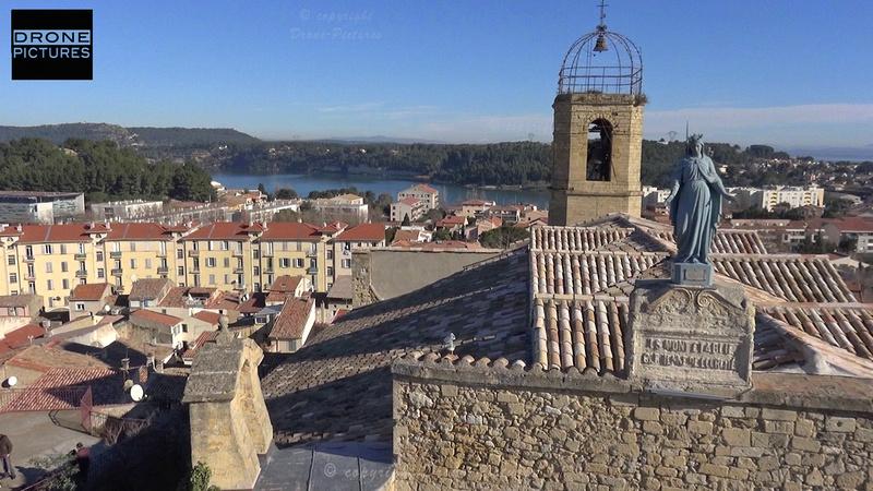 ISTRES-église-Drone-Pictures
