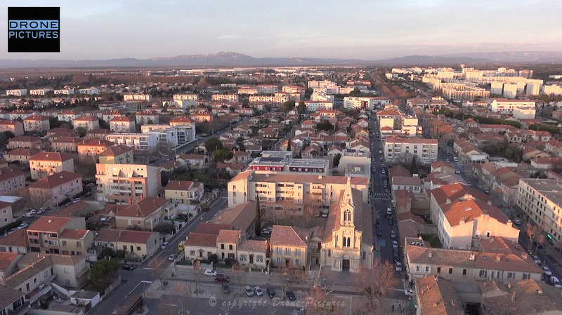 Miramas-Moderne-Eglise-Drone-Pictures