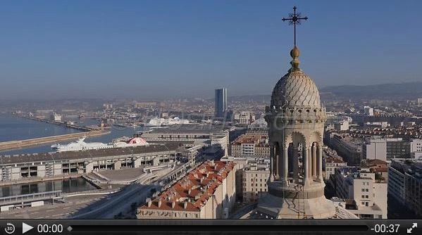 Cathédrale la Major et le Port autonome - Marseille
