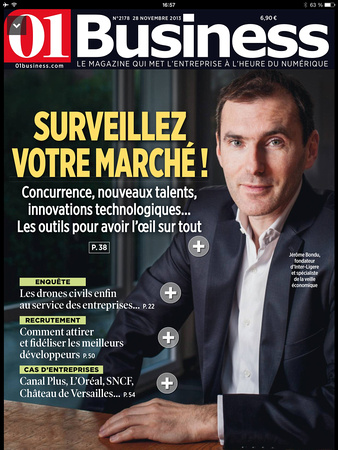 Couverture 01 Business 28 nov 2013 n°2178