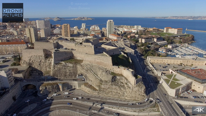 Fort Saint-Nicolas © Drone-Pictures