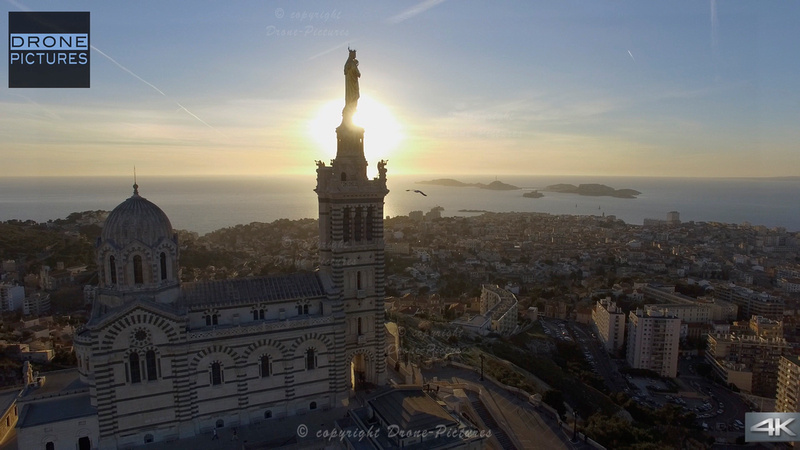 Notre-dame-de-la-garde 2 © Drone-Pictures