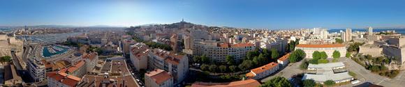 Marseille 360 par drone