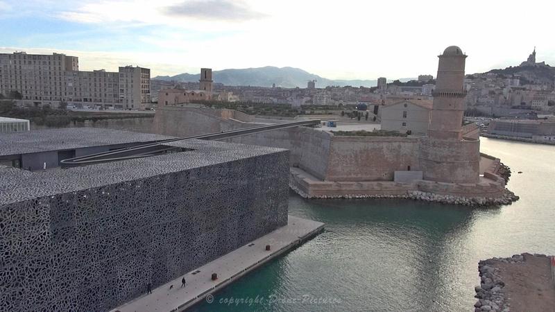 Mucem, Fort-Saint-Jean et NDG - Marseille