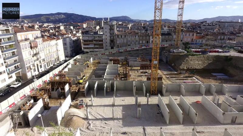 Drone pictures immobilier architecture suivi de for Application de suivi de chantier