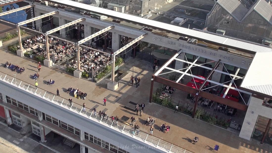 Drone pictures en 2014 marseille rime avec no l sur m6 - Centre commercial les terrasses du port marseille ...