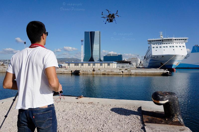 Drone-Pictures au Port Autonome de Marseille+ Tour CMA_DSC2089