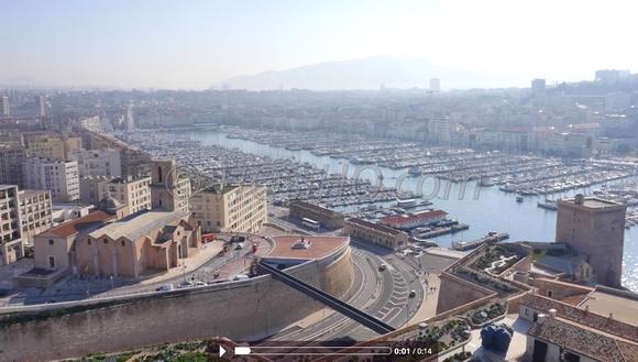Drone pictures photos pour blog vieux port fort saint - Parking vieux port fort saint jean marseille ...